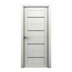 Полотно дверное Остекленное Орион,3D Финиш-пленка 2000х800мм,перламутр