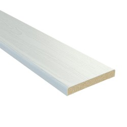 Наличник плоский,3D Финиш-пленка 2150х70х8мм,Белый