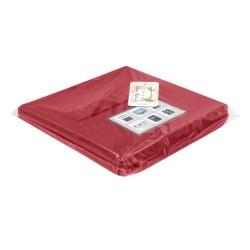 Коробка стеллажная 300х220х220 Нрава Пурпурный 00000026003-161