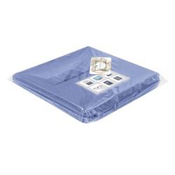 Коробка стеллажная 300х220х220 Нрава Светло-синий 00000026003-171