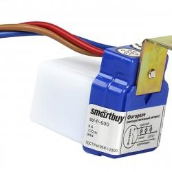 Датчик световой 6А 1400Вт IP44 sbl-fr-600 Smartbuy