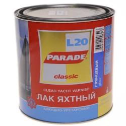 Лак яхтный PARADE 0,75л глянцевый