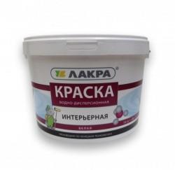 Краска ЛАКРА интерьерная белая 14кг