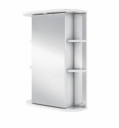 Шкаф-зеркало IKA Гиро 55 белый