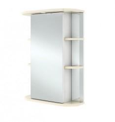 Зеркало-шкаф IKA Гиро 55 ваниль