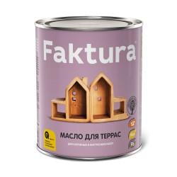 Масло FAKTURA для террас, 2,7 л