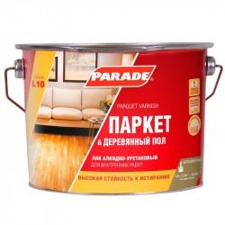 Лак паркетный PARADE 2,5л матовый