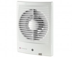 Вентилятор вытяжной осевой накладной 100мм Вентс 100МЗ белый, для прямоуг.проемов, Vents