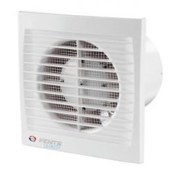 Вентилятор вытяжной осевой накладной 100мм Вентс 100С белый, с москитной сеткой, Vents
