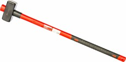 Кувалда 3кг с фиберглассовой обрезиненной ручкой Matrix 10922