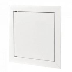Люк-дверца 150*150мм фланец, пластик, рамка 167*167мм, нажимной, Д 150*150 (Р), Vents