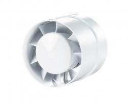 Вентилятор вытяжной осевой канальный 125мм 125 ВКО белый, Вентс