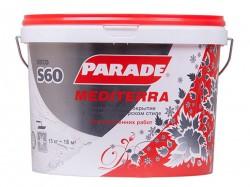 Покрытие декоративное PARADE S60 15кг Белый