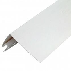 Профиль околооконный FineBer, цвет белый, 3.05 м