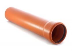 Труба канализационная наружная ПП, SN 4 O160 мм, S=4,9 мм 1000 мм