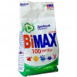 Порошок стиральный BiMax 100пятен Автомат м/у 3кг