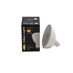 Лампа светодиодная MaxLight JCDR LED 6W 4000К GU5.3
