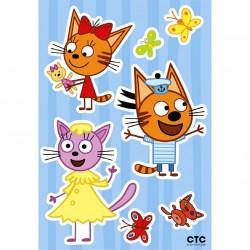 Декоретто Три кота: Забавная карамелька и друзья LK 1903