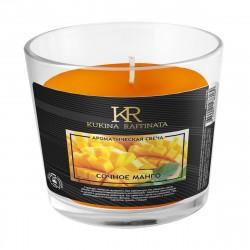 Свеча ароматическая Kukina Raffinata Манго в стакане 202846