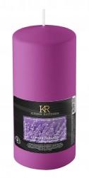 Свеча-столбик ароматическая Kukina Raffinata Горная лаванда 56*100мм 202927