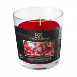 Свеча ароматическая Kukina Raffinata Цветущий сад в стакане 202882