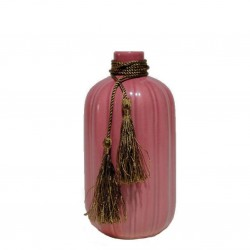 Ваза керамическая Милош 23.5см розовый 8119-2