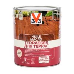 Масло для террас Бесцветное V33 2,5л