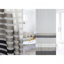 Тюль 44305 3.0х2.7м льняная ткань, серый