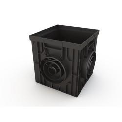 Дождеприемник Ecoteck, цвет черный, 31 х 31 х 29 см