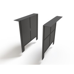 Перегородка-сифон к дождеприемнику Ecoteck, цвет черный