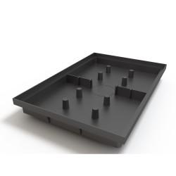 Поддон придверный Ecoteck, цвет черный, 60 х 40 см