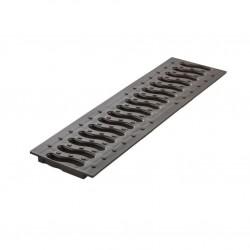 Решетка к лотку Ecoteck цвет черный, 49 х 13 см