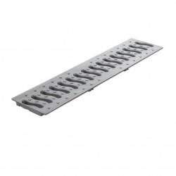 Решетка к лотку Ecoteck цвет металлик, 49 х 13 см