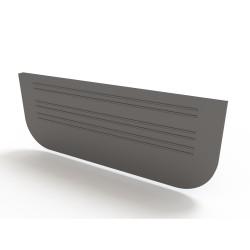 Заглушка для лотков Ecoteck, цвет черный
