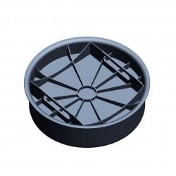 Дно-крышка Ecoteck, цвет черный, 38,85 см