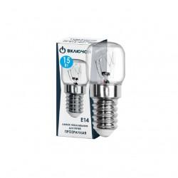 Лампа накаливания для печей Т22 15W E14 t-300*C