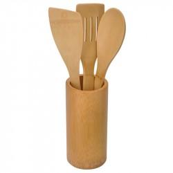 BNB2957  Набор кухонных принадлежностей с подставкой, 4шт