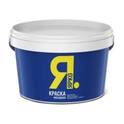 Краска ЯРКО фасадная белая 2,5 кг