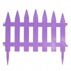 Забор декоративный Солнечный сад набор 7 секций мята