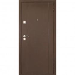 Дверь входная металлическая Форпост 73 2050х860 Правая,Дуб Беленый