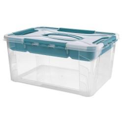 Ящик универсальный 390х290х180мм 15,3л GRAND BOX Эконова с замками и вставкой-органайзером 4332244