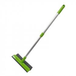 Набор для мытья окон Soft Touch LIGHT губка+скребок+телескопическая ручка 45207-7954