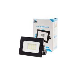 Прожектор светодиодный LED 10W VLF7-10-6500-mini-B 6500К 900Лм 220V IP65  черный
