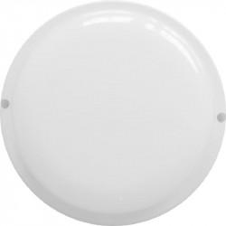 Светильник светодиодный влагозащищенный круг 12W, 6500К, 970 Лм, IP65 (140*57мм)