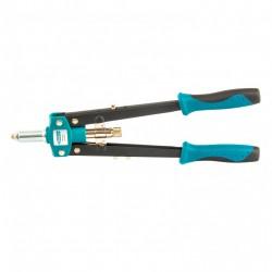 Заклепочник двуручный 420 мм, двухкомпонентные рукоятки, для заклепок 2.4-3.2-4.0-4.8 Gross 40407