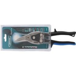 Ножницы по металлу PIRANHA 250мм прямой и правый рез сталь-СrMo двухкомпонентные рук., Gross 78323