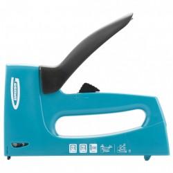 Степлер мебельный пластиковый корпусрегулировка удара тип скобы 13, 53, 300, 6-16мм Gross 41003