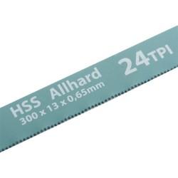 Полотна для ножовки по металлу 300 мм 24TPI HSS 2 шт. Gross 77724