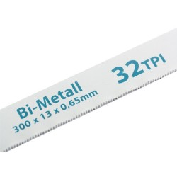 Полотна для ножовки по металлу 300 мм 32TPI BiM 2 шт. Gross 77728