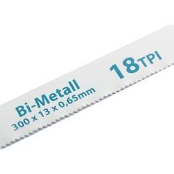 Полотна для ножовки по металлу 300 мм 18TPI BIM 2 шт. Gross 77730